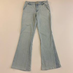 Marc by Marc Jacobs flared light wash jeans